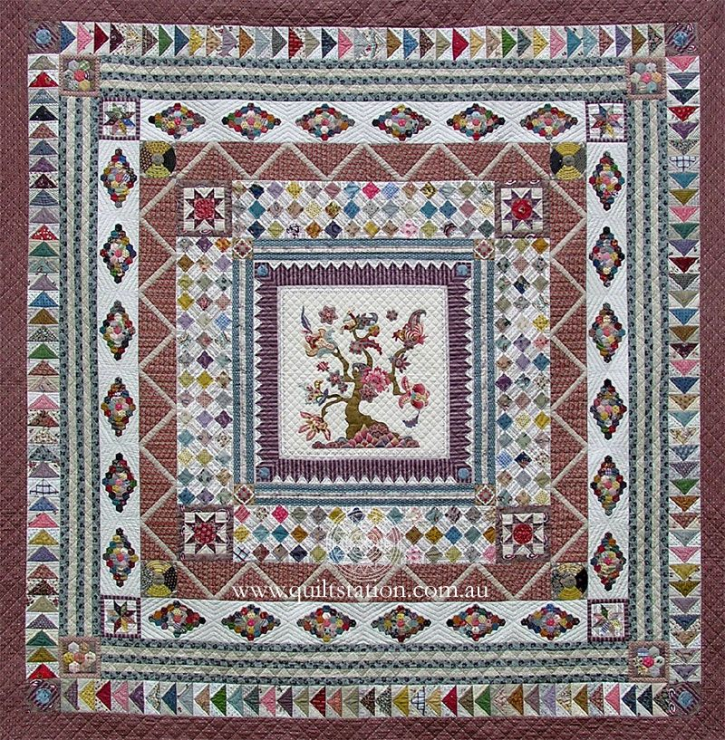 image of Banyan Tree Medallion quilt | Quilting - Items I Might ... : quilting items - Adamdwight.com