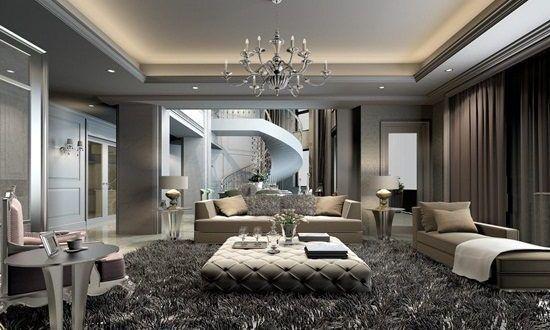 Elegant Creative Living Room Interior Design