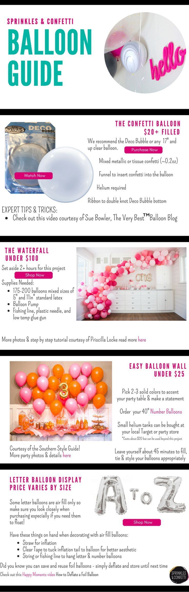Add Style to your next Party with Balloons - -