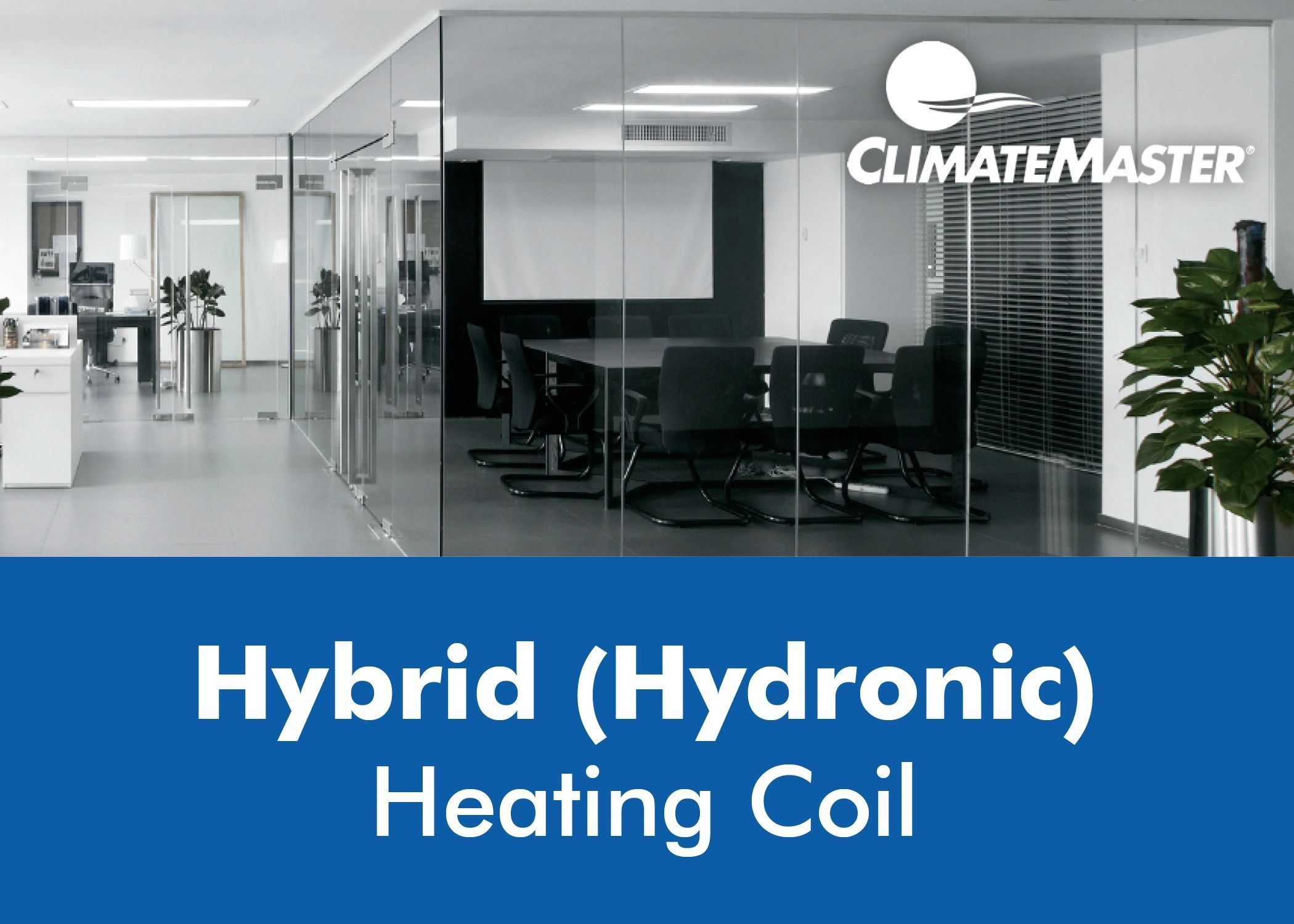 Hybrid Hydronic Heating Coil The Hybrid System Combines The Benefits Of Hydronic Heating And Water Cooled Air Heating Coil Hydronic Heating Commercial Hvac