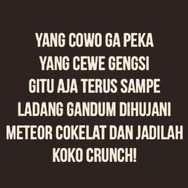 Coco Crunch Kutipan Lucu Kata Kata Motivasi