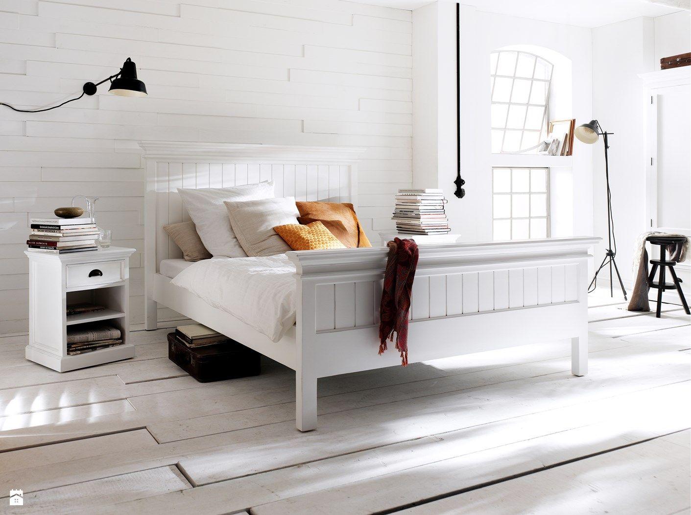 Białe Meble Z Drewna Mahoniowego Halifax Zdjęcie Od Seart