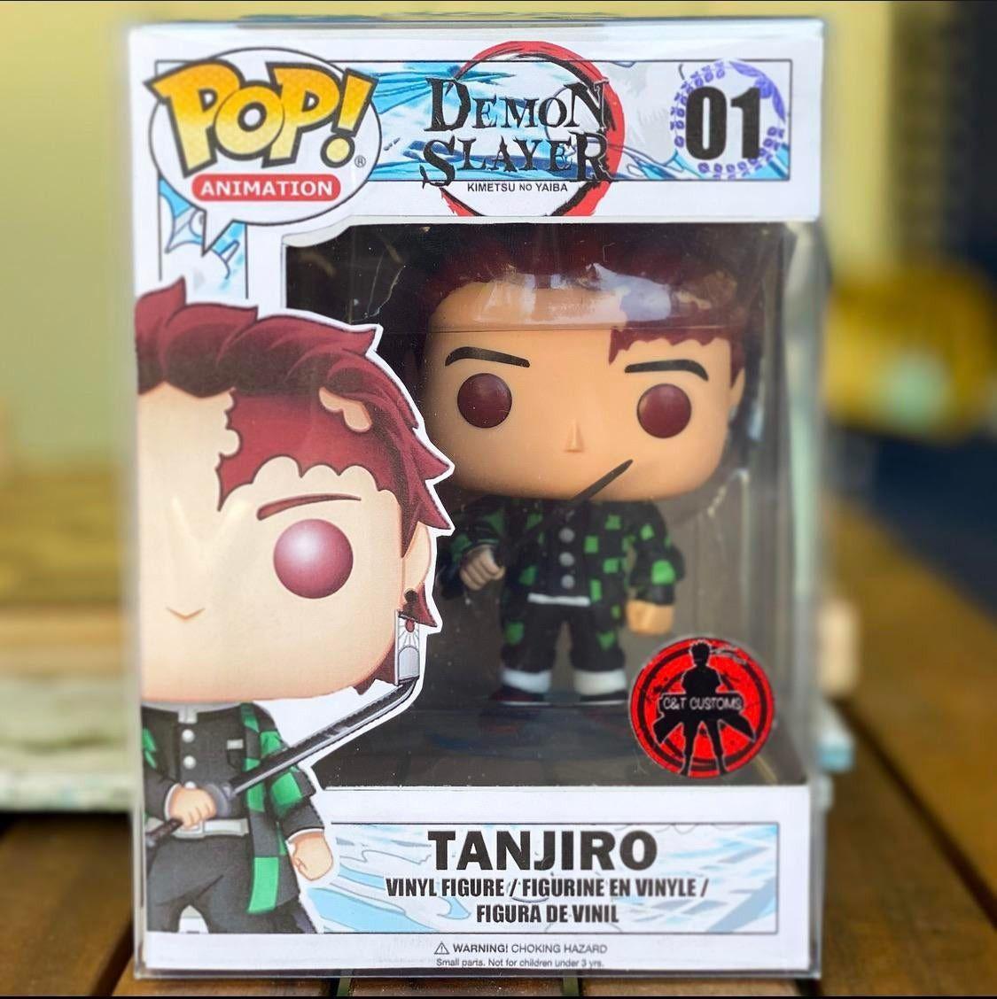 Demon slayer tanjiro custom pop funko pop anime anime