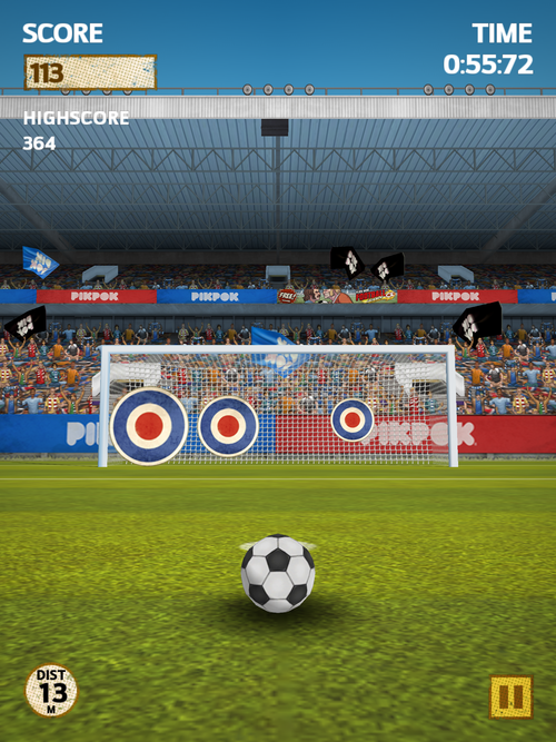 Flick Kick Football by Prodigy Design Limited,