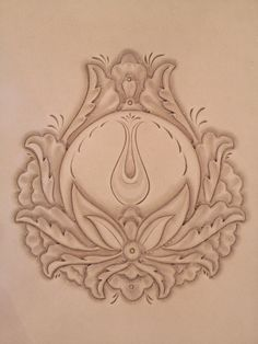 leather carving patterns - Google Search