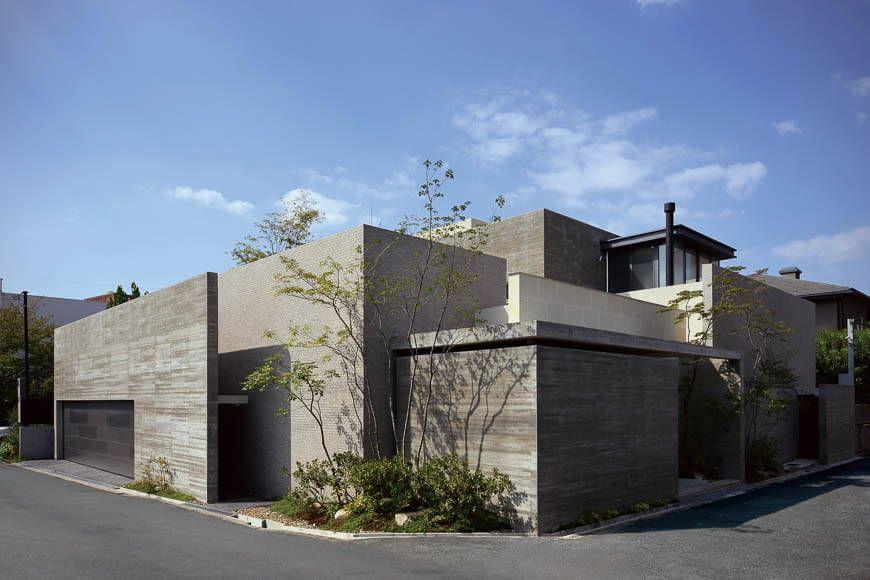 コンクリート Rc造の家 立体的な庭を内包する家 アーキッシュ
