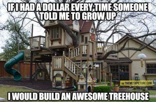 Random Photo: If I had a dollar every time someone told me to grow up - MajorGeeks
