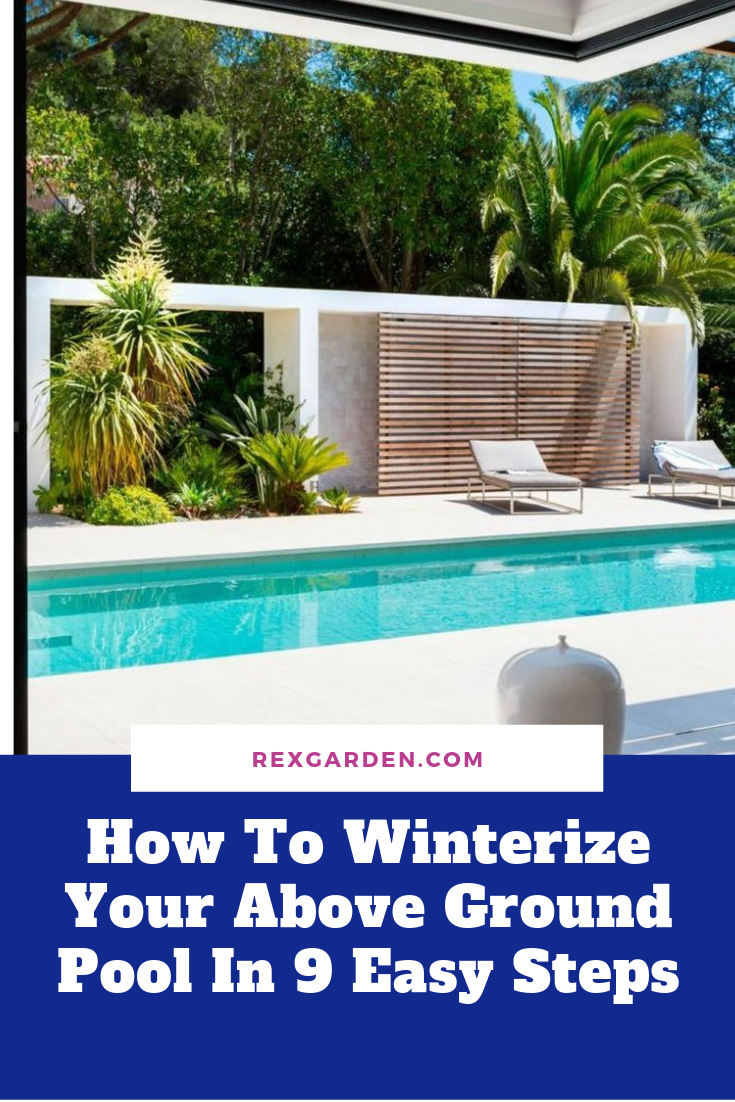 How To Winterize Your Above Ground Pool In 9 Easy Steps With