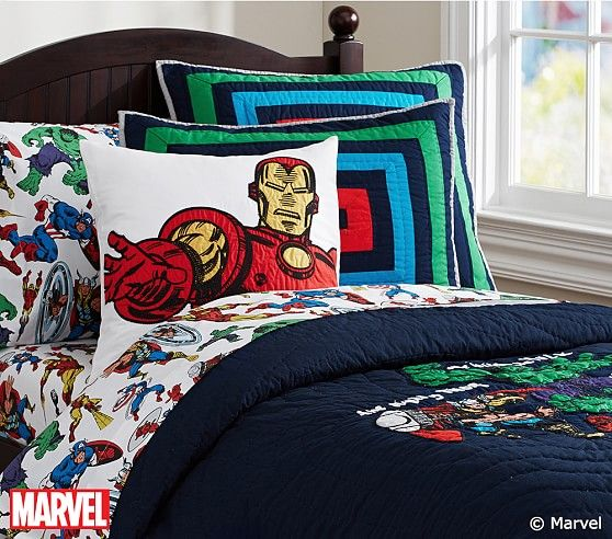 Best Marvel Quilt In 2020 Marvel Bedroom Avengers Room Big 400 x 300