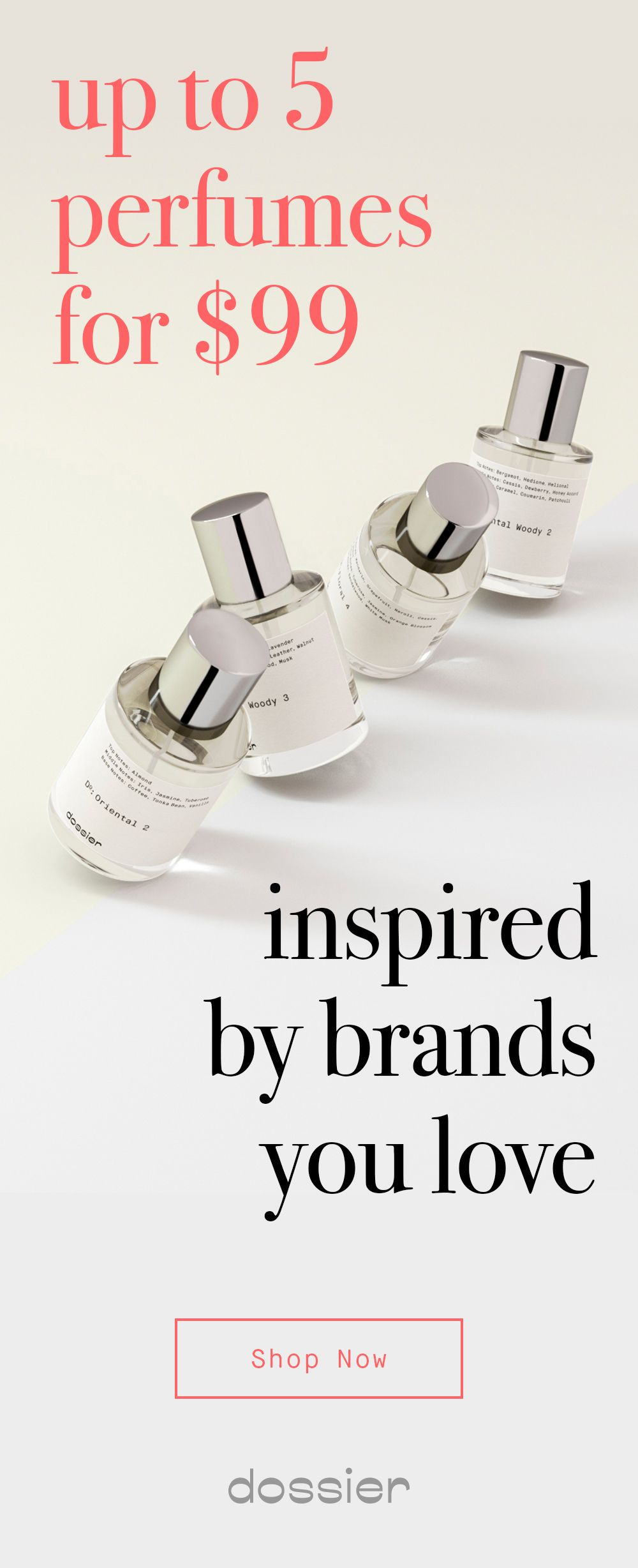 Dossier is your goto destination for scents that have the