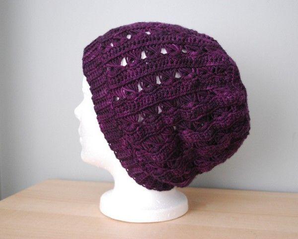 20 Beautiful Broomstick Lace Crochet Patterns   Gorros, Gorro tejido ...
