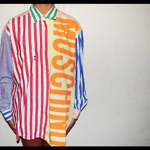 Photo by herthreads • Instagram    #moschino #mymoschino #shirt #vintage