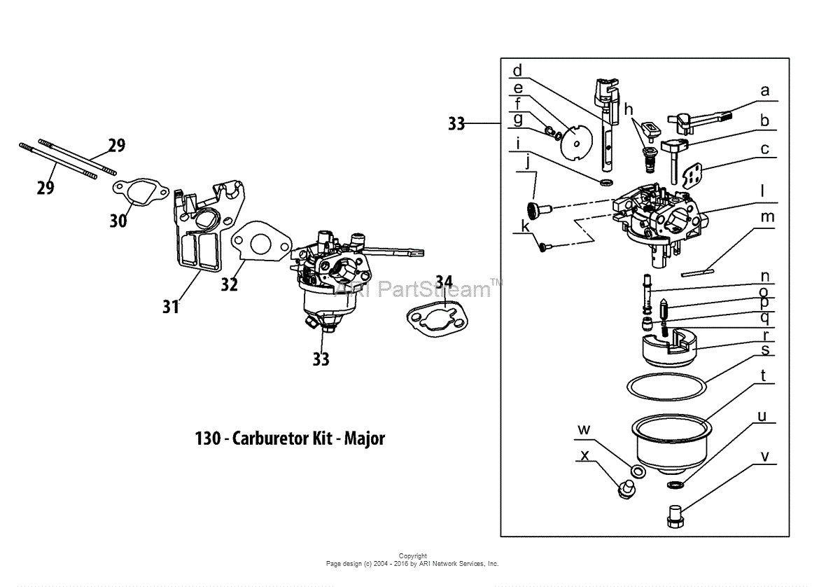 2006 Troy Bilt Bronco Wiring Diagram. Troy-bilt Pony 17.5