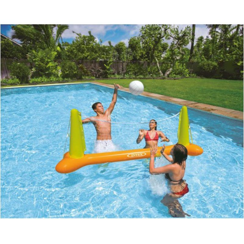 Intex Pool Volleyball Game Inflatable Floating Swimming Fun Net Ball Ages Inflatable Pool Toys Volleyball Set Pool Toys