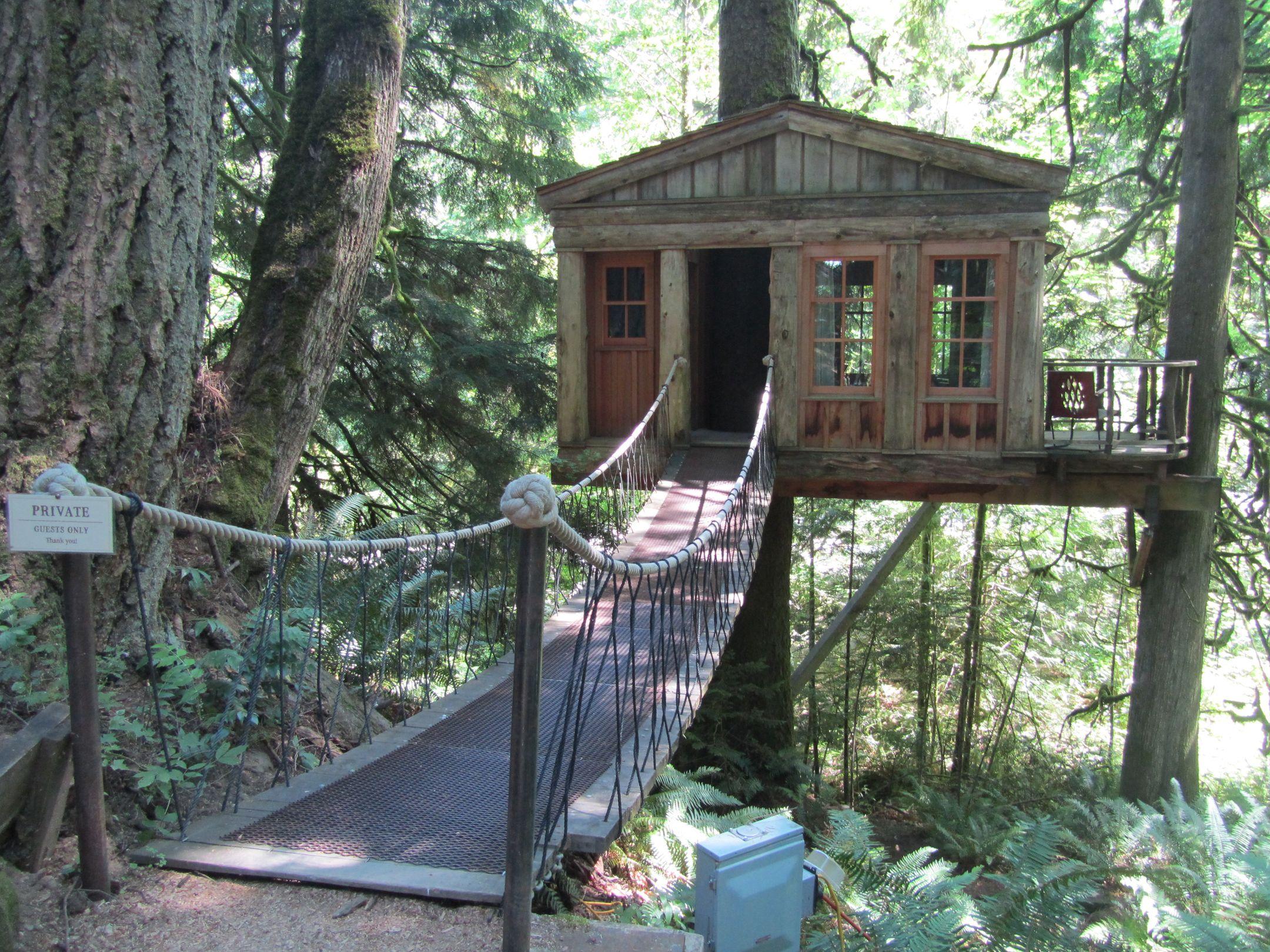 Treehouse Fall City Wa Part - 48: U201cTemple Of The Blue Moonu201d, Treehouse Point, Falls City, WA /