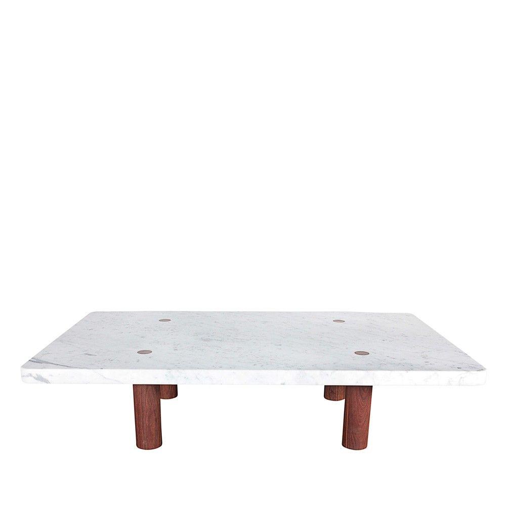 Column Coffee Table, Rectangular