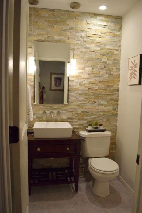 27 Decorating Ideas To Make Your Bathroom Fabulous Guest Bathroom Small Half Bath Remodel Small Half Bathrooms