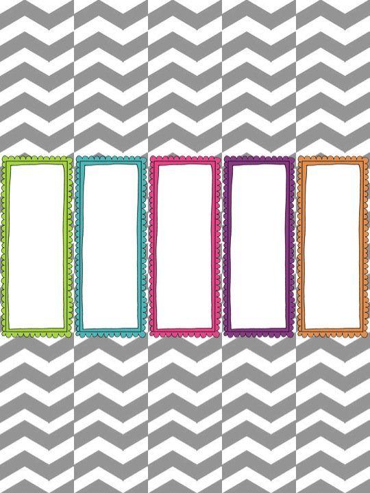 Make It Look Good! Organizational Freebie Craft Pinterest