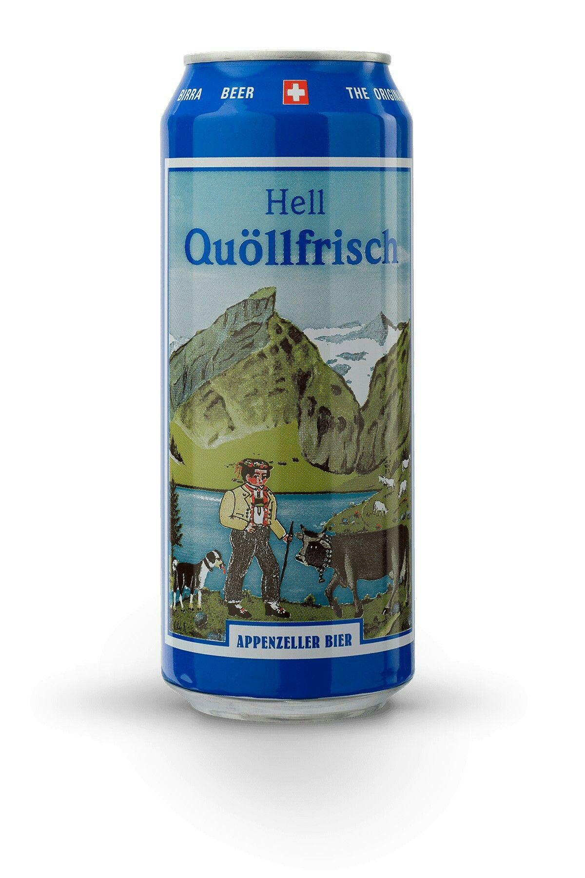 Quöllfrisch Hell, Suiza   Cervezas   Pinterest