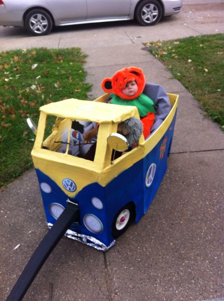 Knox as a Grateful dead dancing bear costume and VW van! & Knox as a Grateful dead dancing bear costume and VW van! | Knox ...