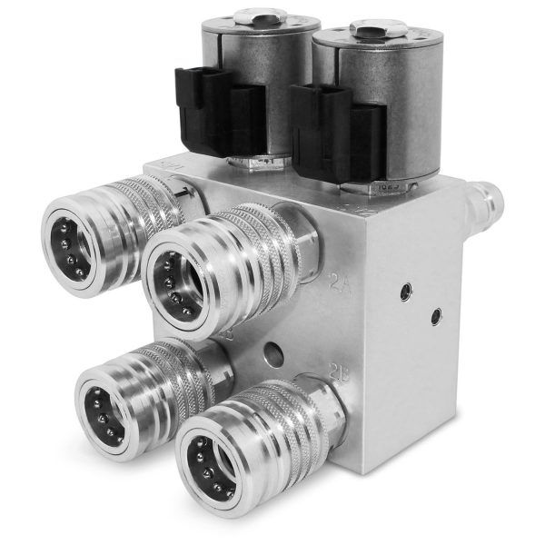 Hm2 With Couplers Hydraulic Systems Valve Switch