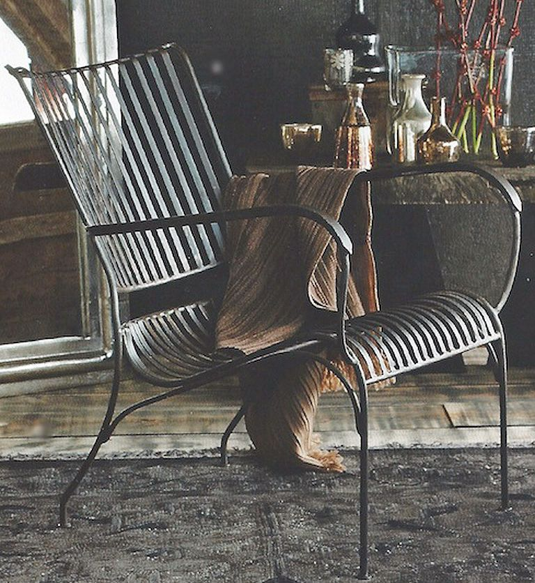iron chair price dining covers australia ebay kent hand forged retail 495 hammertown 375