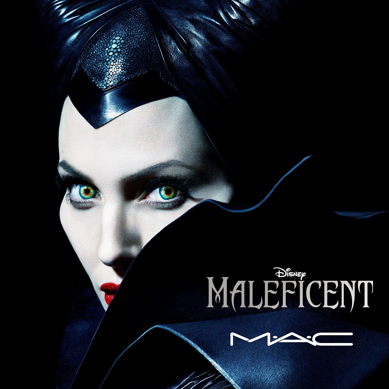 MAC Finds Beauty in An Evil Villain Maleficent makeup
