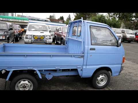 For Sale 1988 Daihatsu Hijet Kei Truck 4wd Difflock Youtube Daihatsu Mini Trucks Trucks