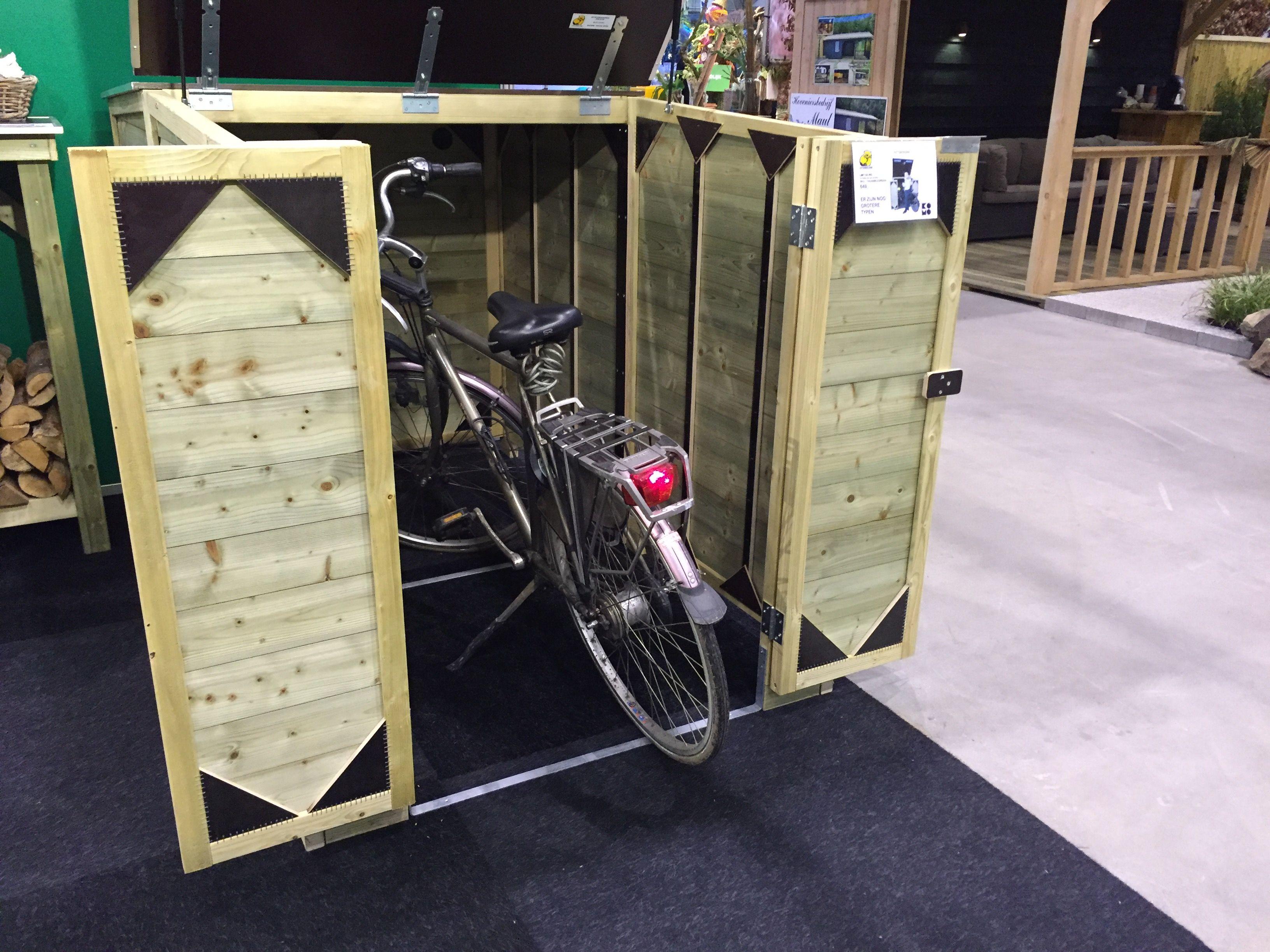 Berging voor fiets of motor diverse afmetingen lutrabox