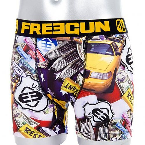 Freegun Boxer Homme Tax Men's Underwear Taxi Graphics Fashion Boxer Briefs #Freegun #BoxerBrief