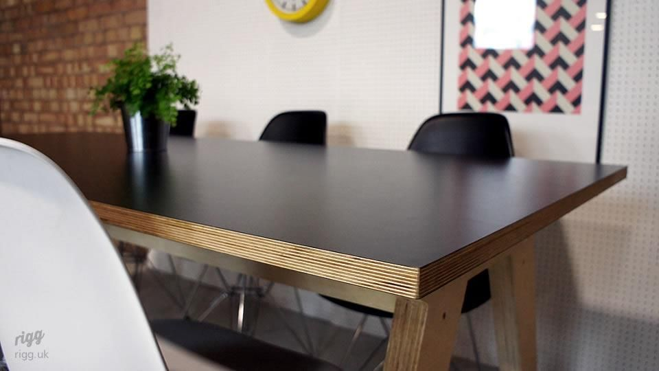 Synk Birch Plywood Dining Table In 2020