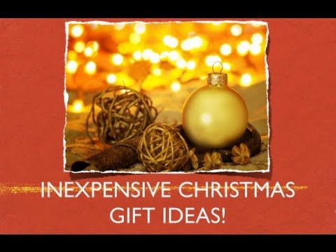 ♥Inexpensive Christmas Gift Ideas!!♥ Christmas Pinterest