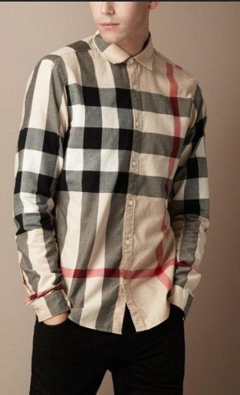 92de4d5fe6 Burberry Men Dress Shirts BURDRSM164 [$35.00] | Fly shit only ...