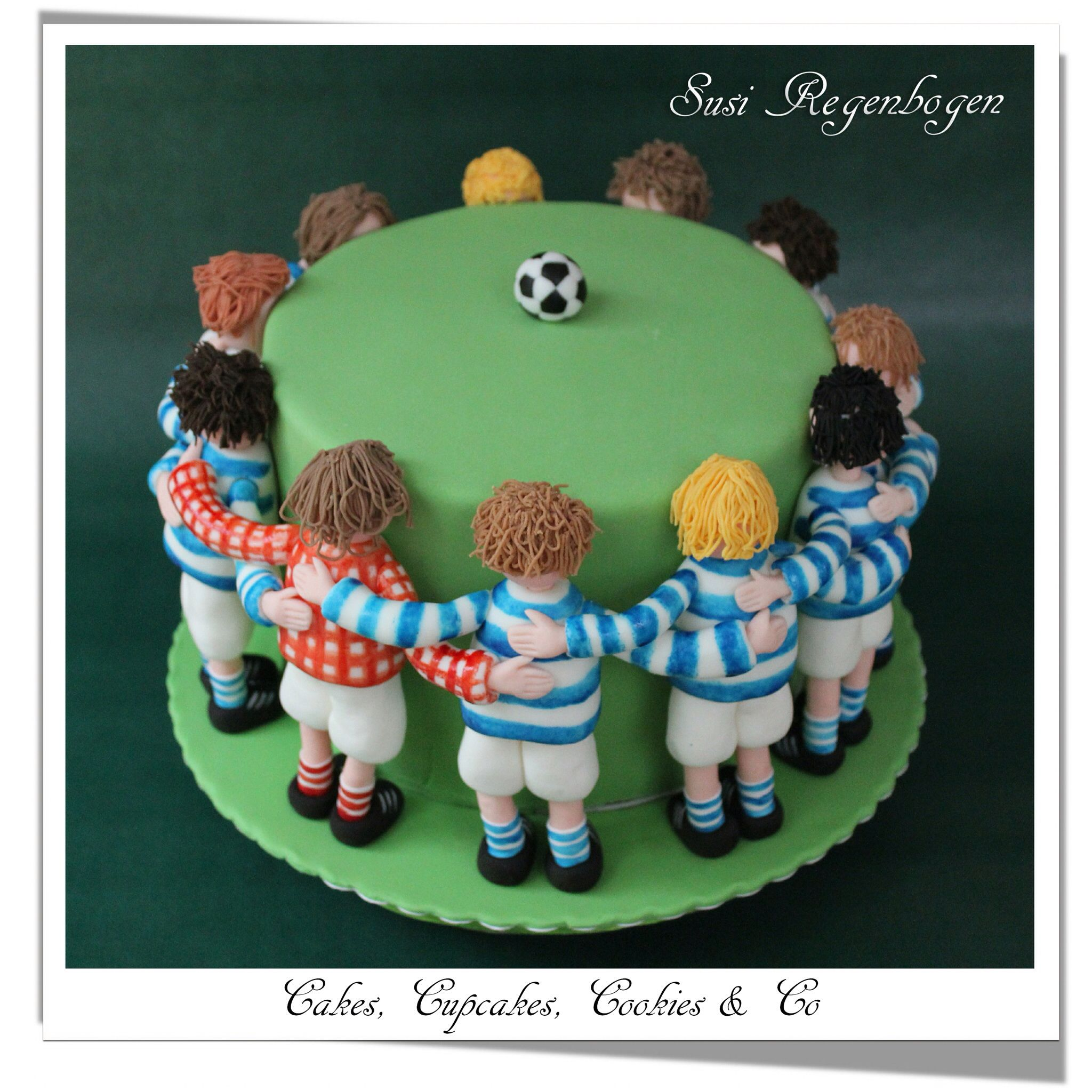 Fu ball trainer torte soccer coach cake meine torten for Dekoration torte