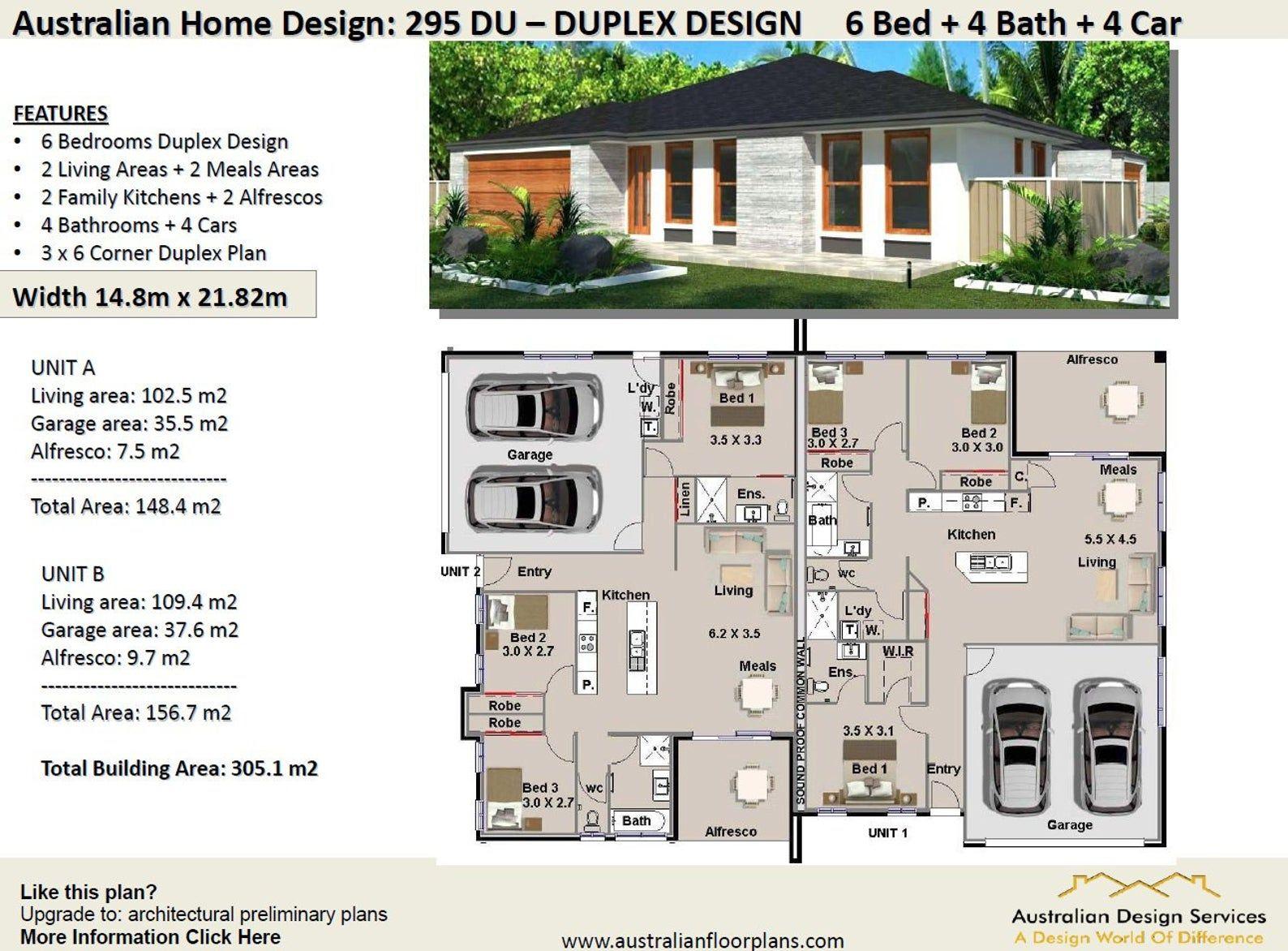 Duplex House Plans Book House Plans Home Plans Duplex Etsy Duplex Floor Plans Duplex House Plans Multigenerational House Plans