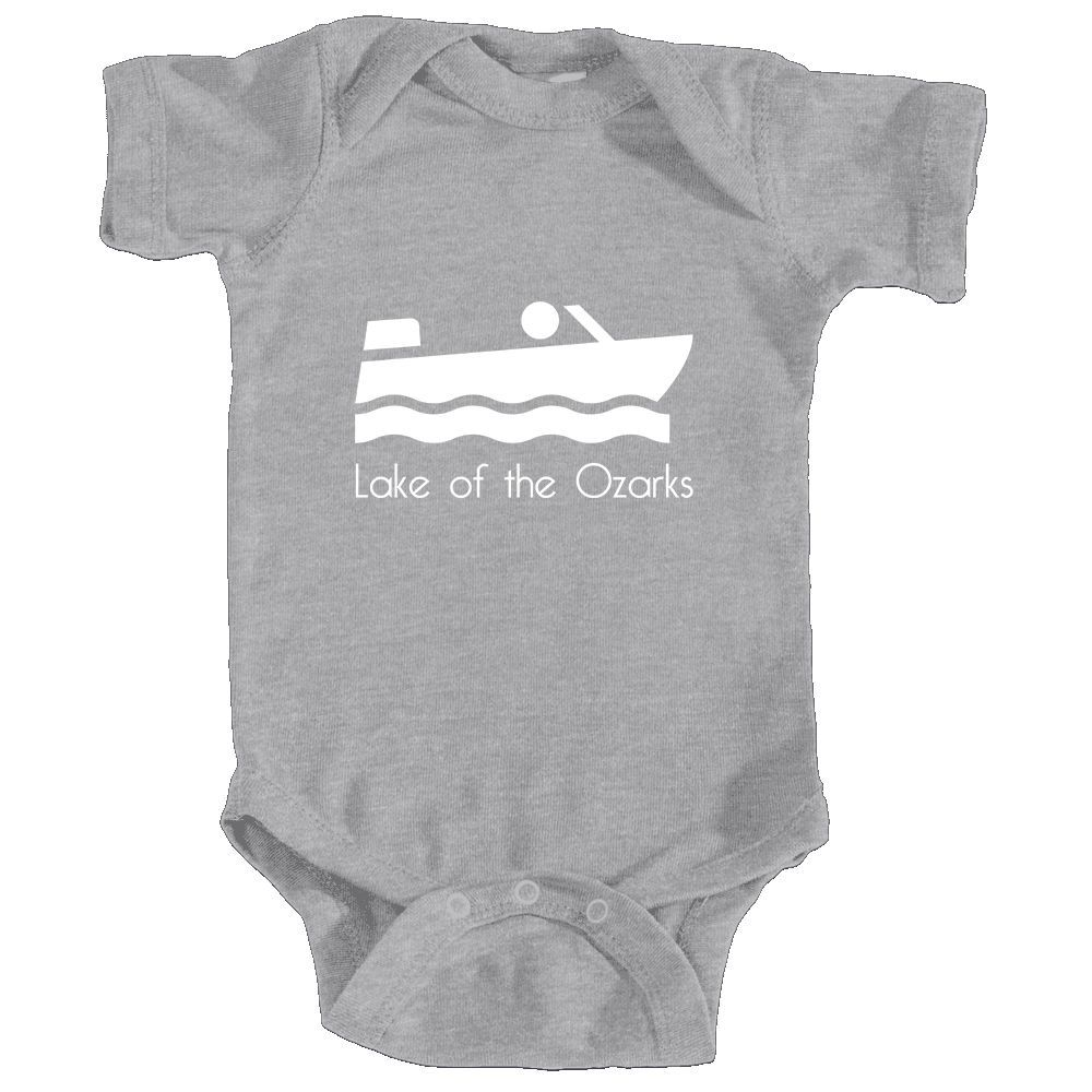Lake of The Ozarks, Missouri Boating - Infant Onesie/Bodysuit