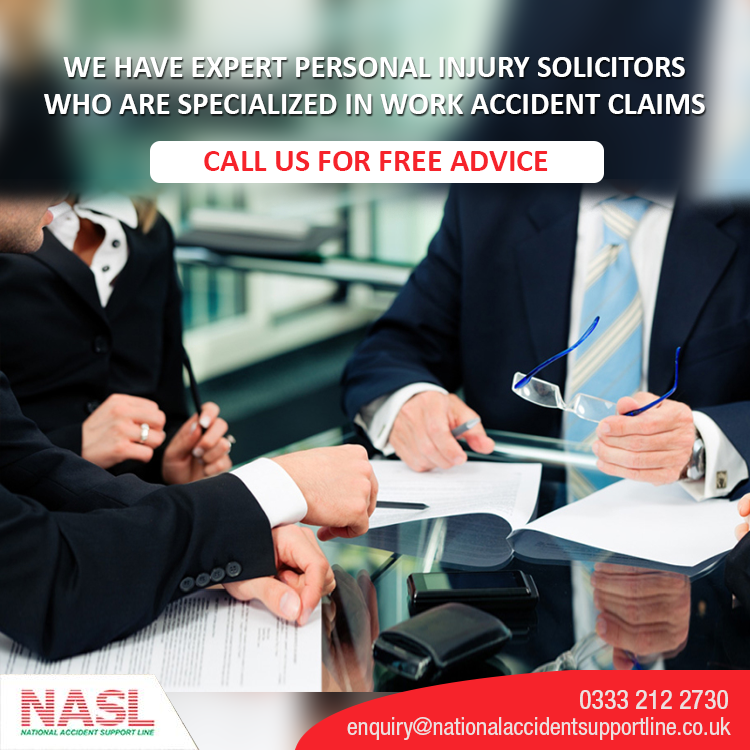 For Work Accident Claims Call Us We Have Expert Personal Injury