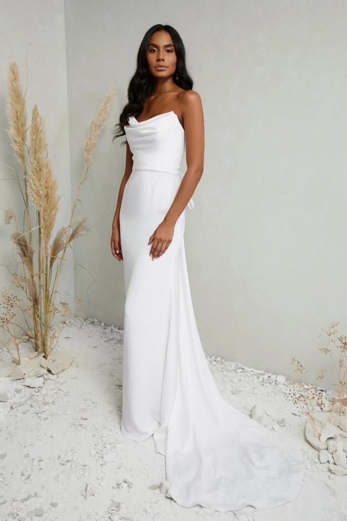 30 Boda Mexicana Katherine Tash – Dove Gown – boda mexicana  – Boda