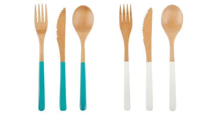 bamboo cutlery/