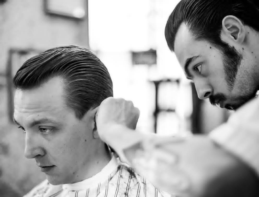 Haircut n beard styles wondering where you can get a real classic just ask around whereus
