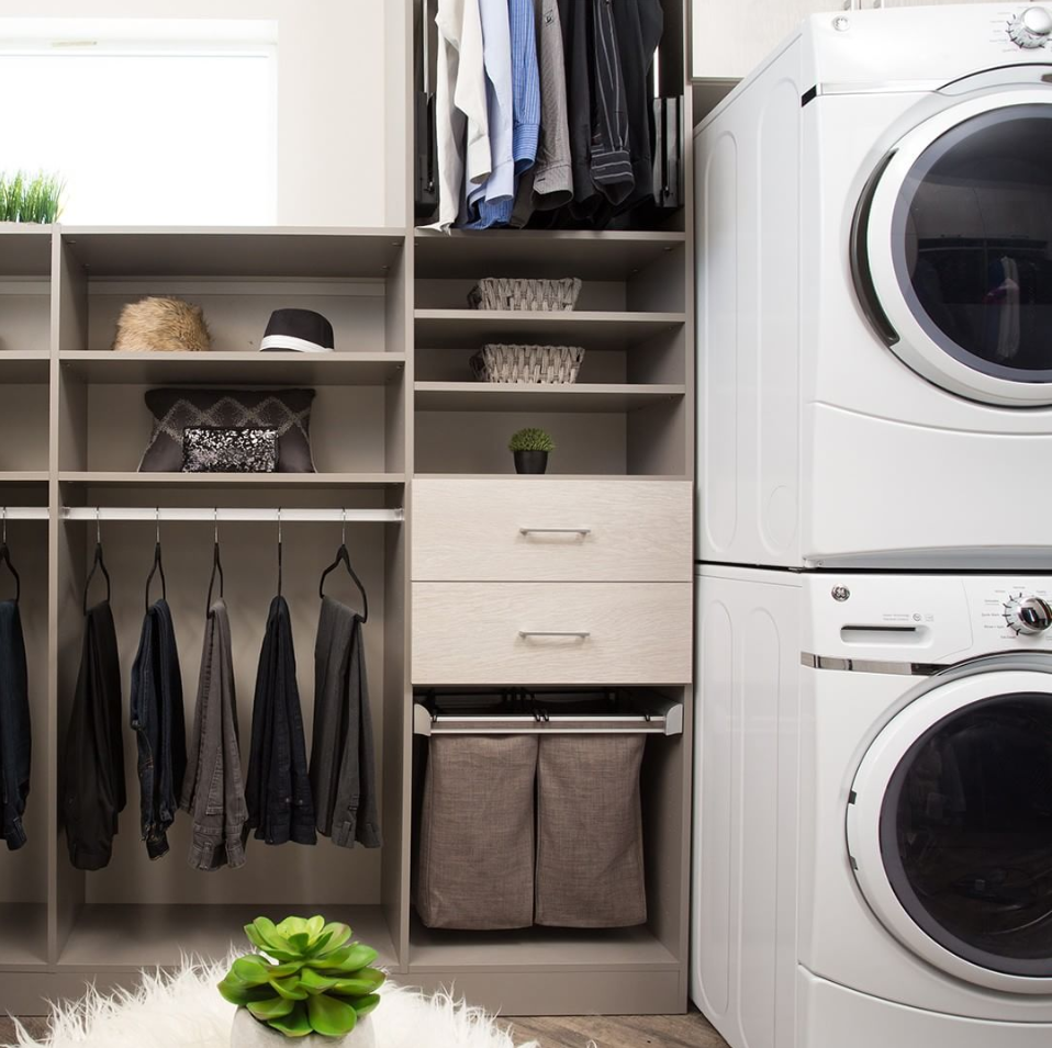 Custom Laundry Space Created With Accessibility In Mind