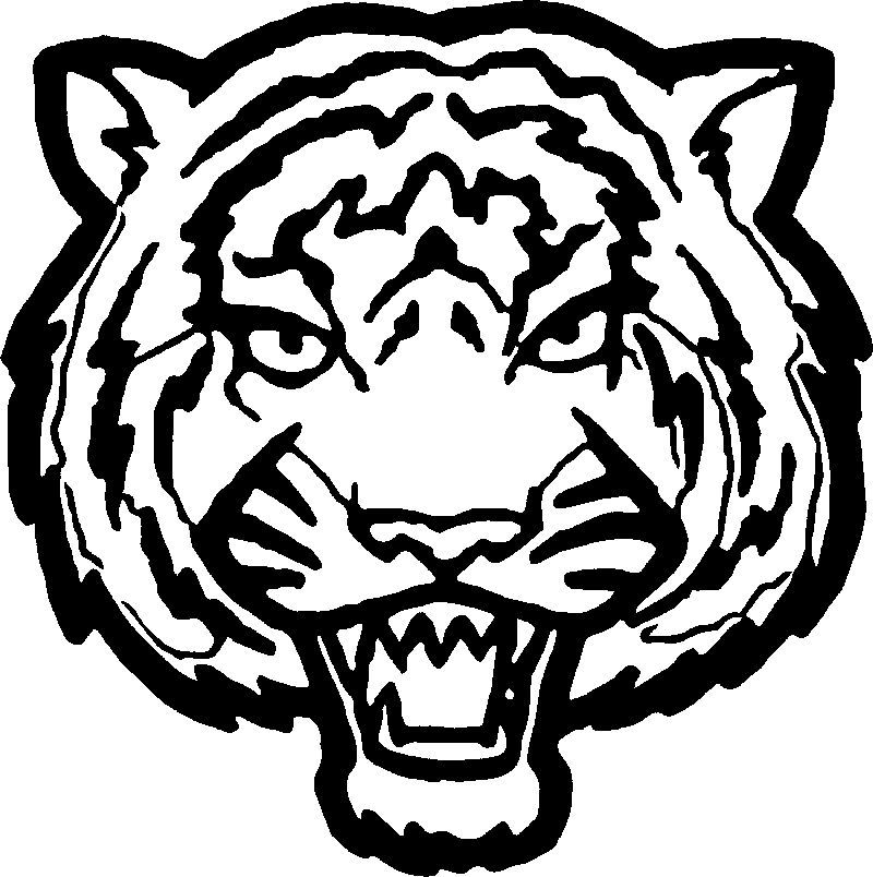 Tiger Face Big Coloring Page. Also see the category to ...