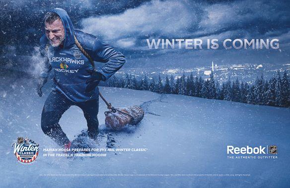 Tim Tadder For Reebok On Behance Photographer Advertising Nhl Winter Classic Winter Classics