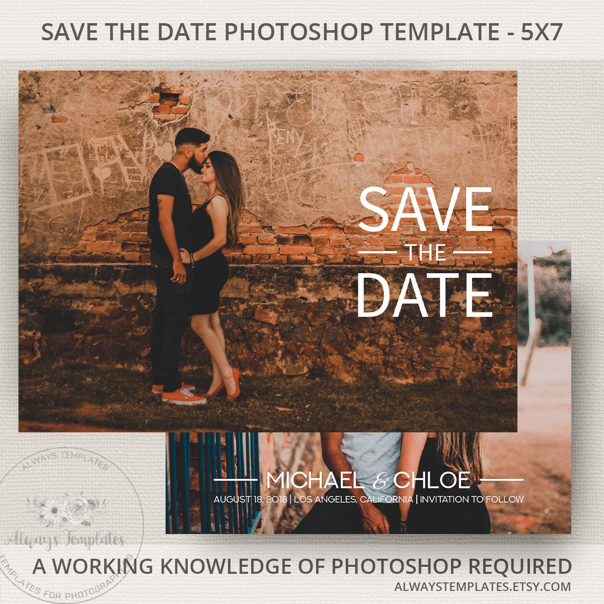 Simple Save The Date Template Printable Save The Date Save The