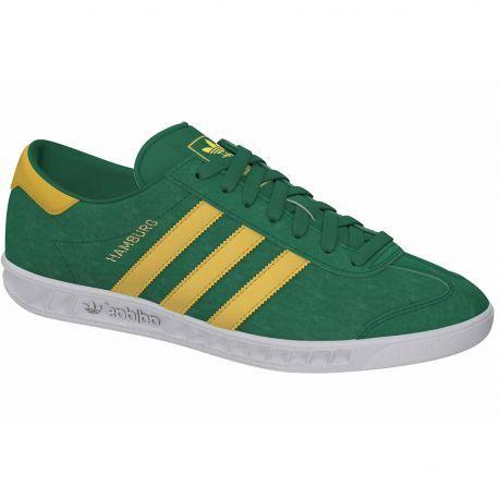 promo code 751e4 2142d Zapatillas Hamburg Verde amarillo de Adidas Footwear Man Stuff, Originals, Adidas  Originals,