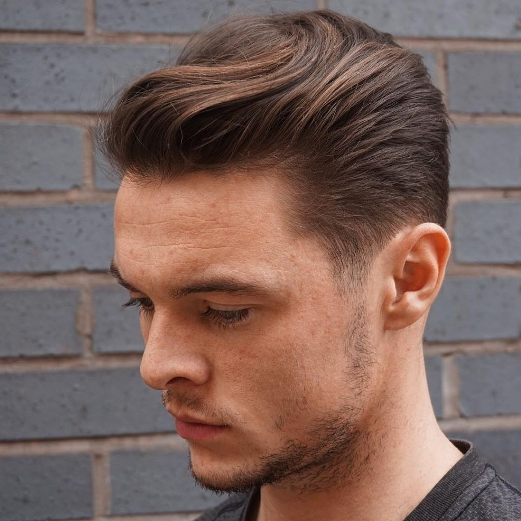 Easy Long In Front Short Back Haircuts Men Long Hair Styles Men Mens Hairstyles Medium Mens Hairstyles Short
