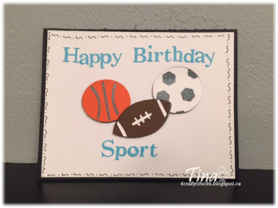 4 CRAFTY CHICKS: 4CC #282- Sports
