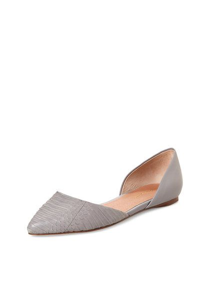 Candy D'Orsay Pointed Toe Flat by Maiden Lane at Gilt