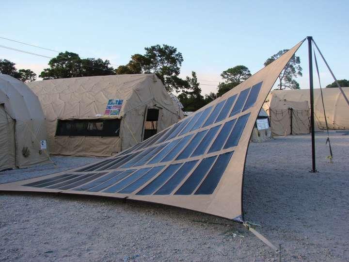 Flexible Solar Panels Solar Fabrics Solar Tent Flexible Solar Panels