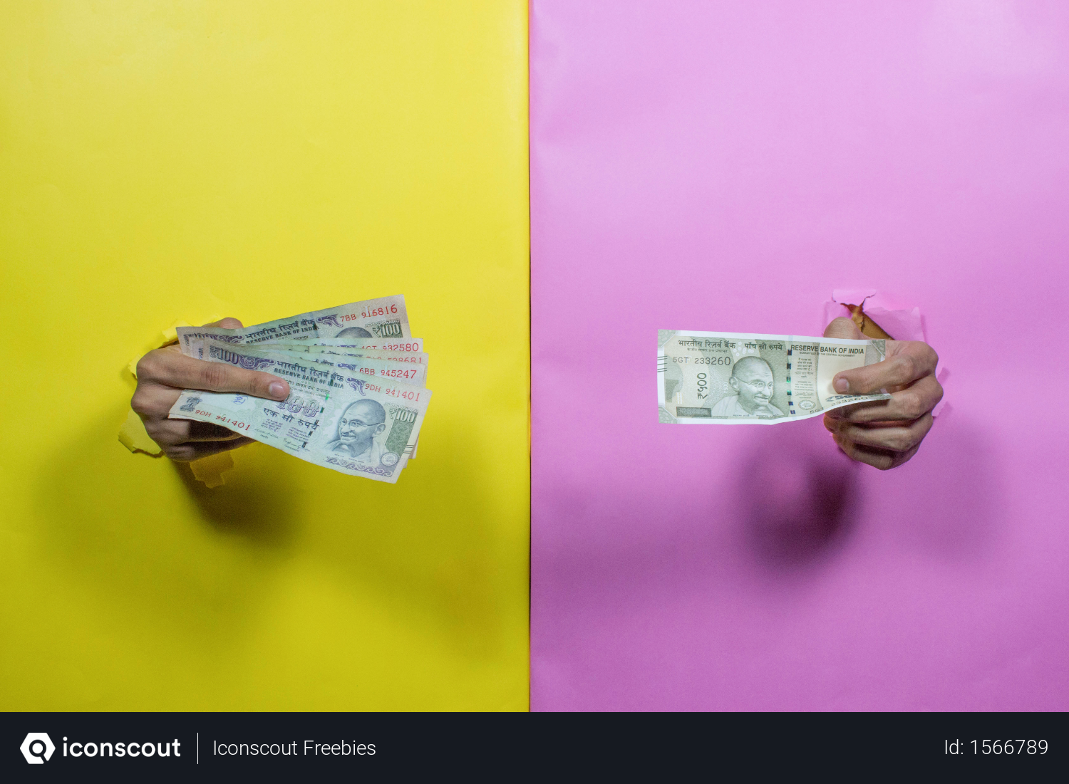 Yellow And Pink Background